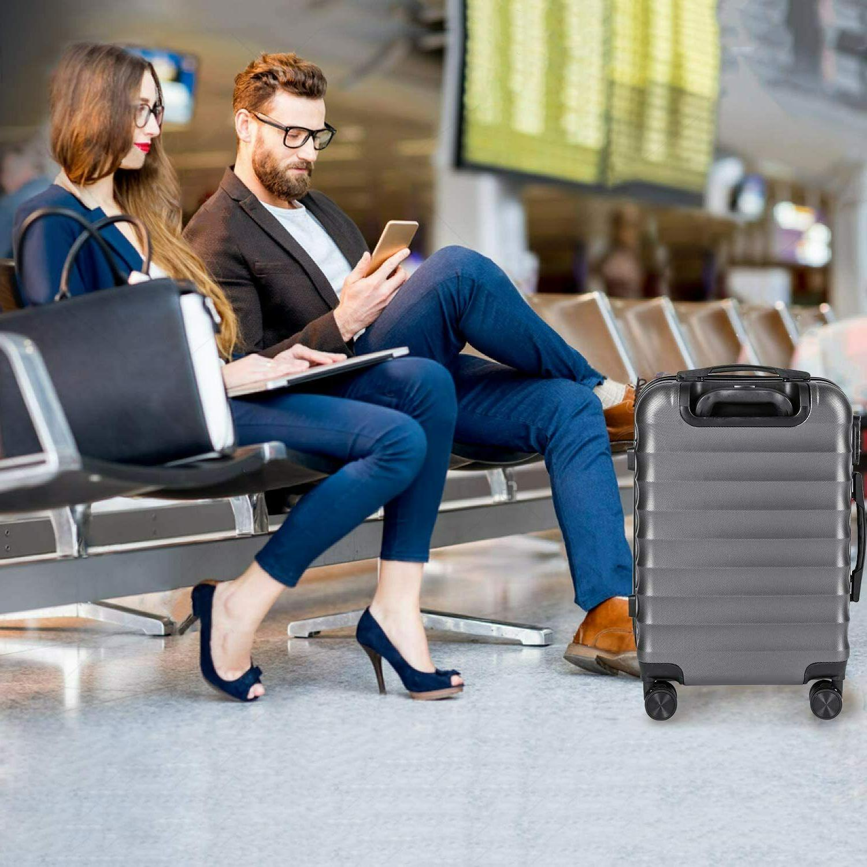 CarryOne Hardside Luggage, Lightweight Suitcase Spinner Wheels,
