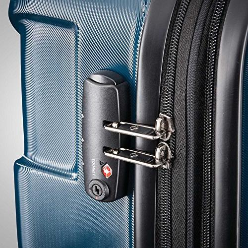 Samsonite Expandable Carry On Luggage Spinner 20 Teal