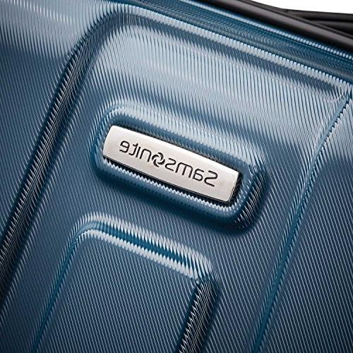 Samsonite Expandable Carry On Luggage Spinner Wheels, Teal
