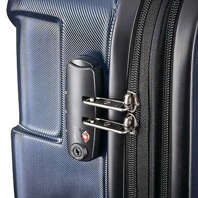 Samsonite Centric Hardside Expandable Carry-On Wheel Luggage, Navy