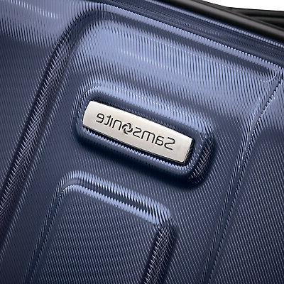 Samsonite Hardside Expandable Luggage, Navy B