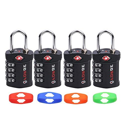 4 Digit Luggage 4 Change Your Color and Alloy