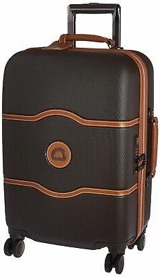 """Delsey Chatelet Plus 21"""" Carry-On Hardside Spinner Suitcase"""