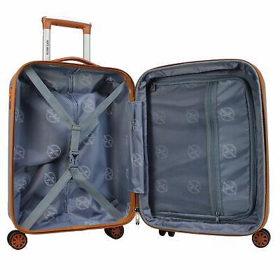 World 20-Inch Carry-On Spinner Luggage -