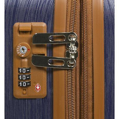 20-Inch Luggage - Blue