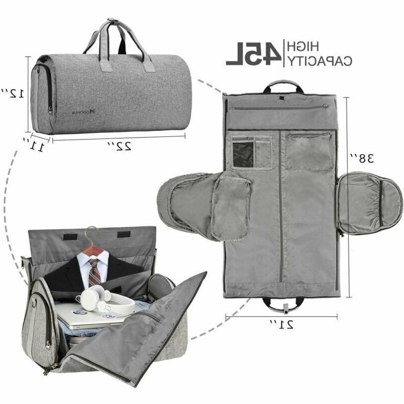 Convertible Garment Bag Shoulder Strap, Carry on Garment Bag