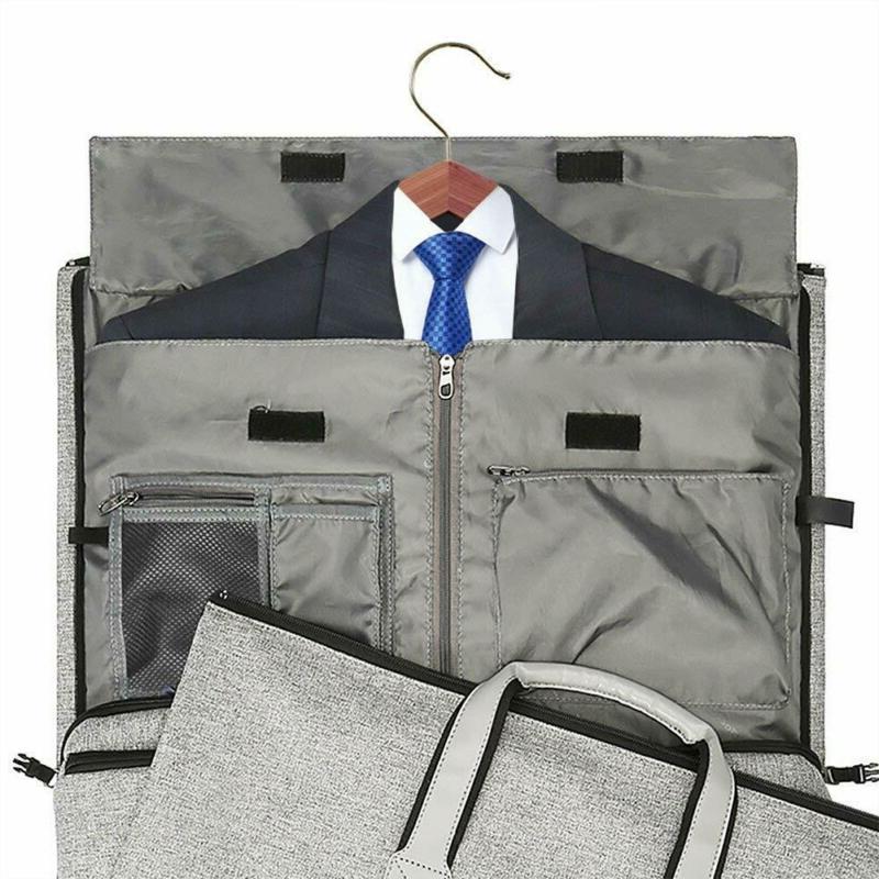 Convertible Garment with Shoulder on Garment Bag