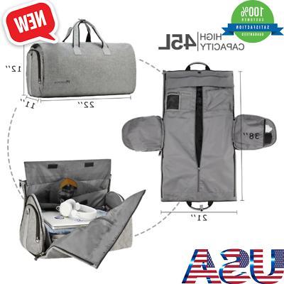 Convertible Bag Shoulder Strap on Garment Duffel Bag