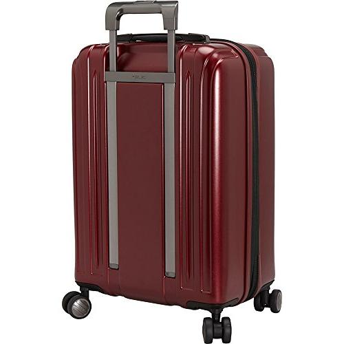 Delsey Helium Carry On Luggage, Hard Case Spinner