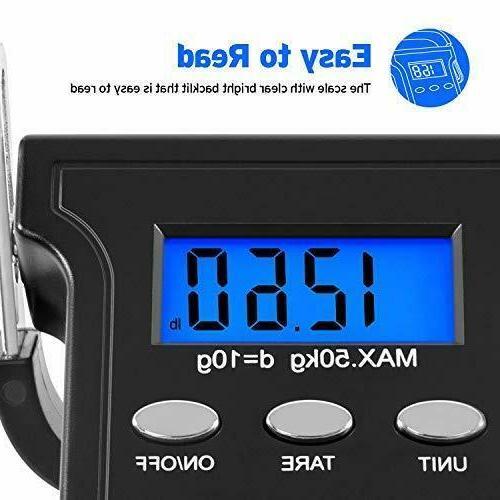Etekcity Digital 110Lb/50Kg, Luggage Weight Scale, Electroni