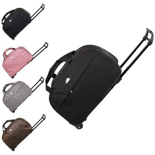 duffle bag 24 rolling wheeled trolley bag
