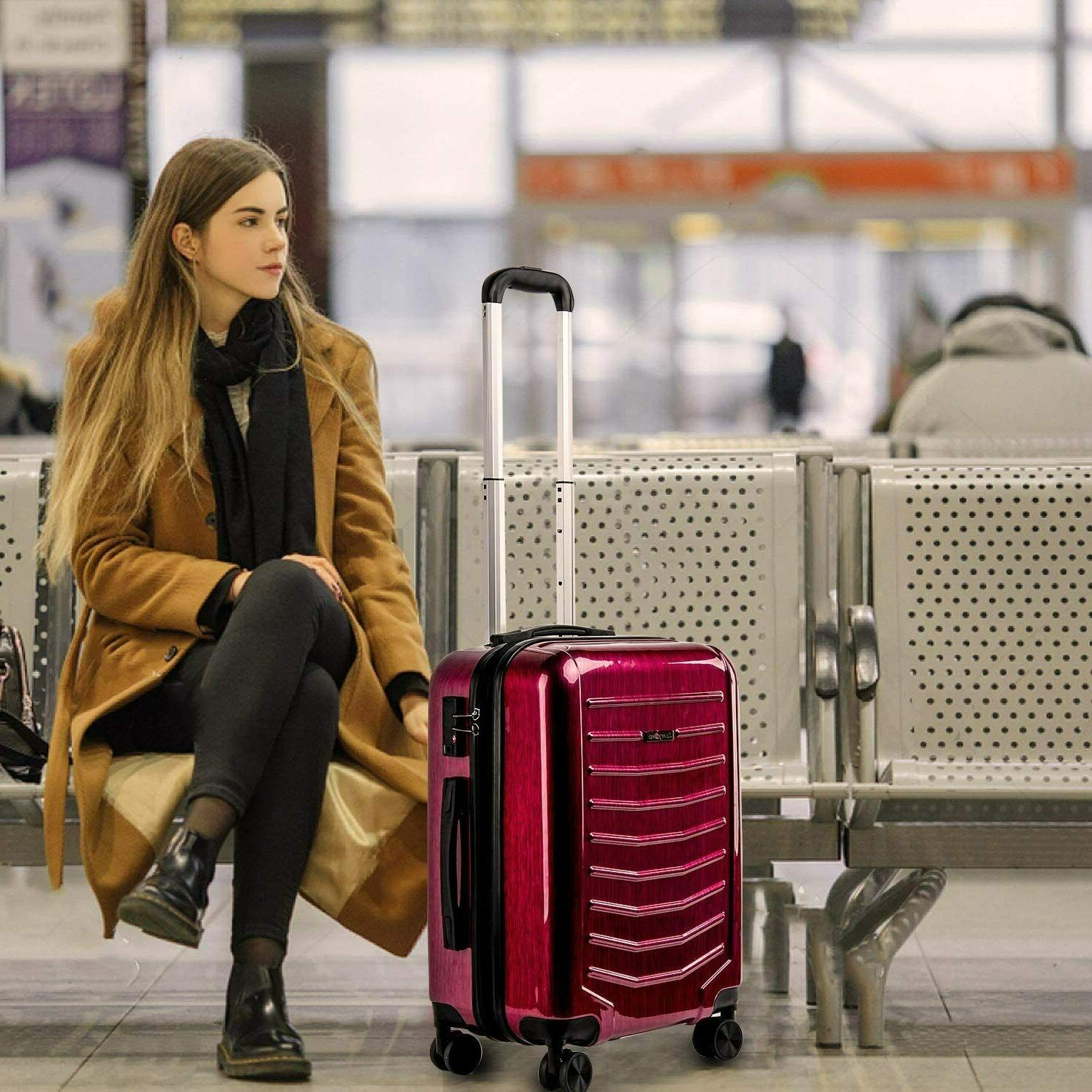CarryOne 21 Inch Travel Suitcase Sile