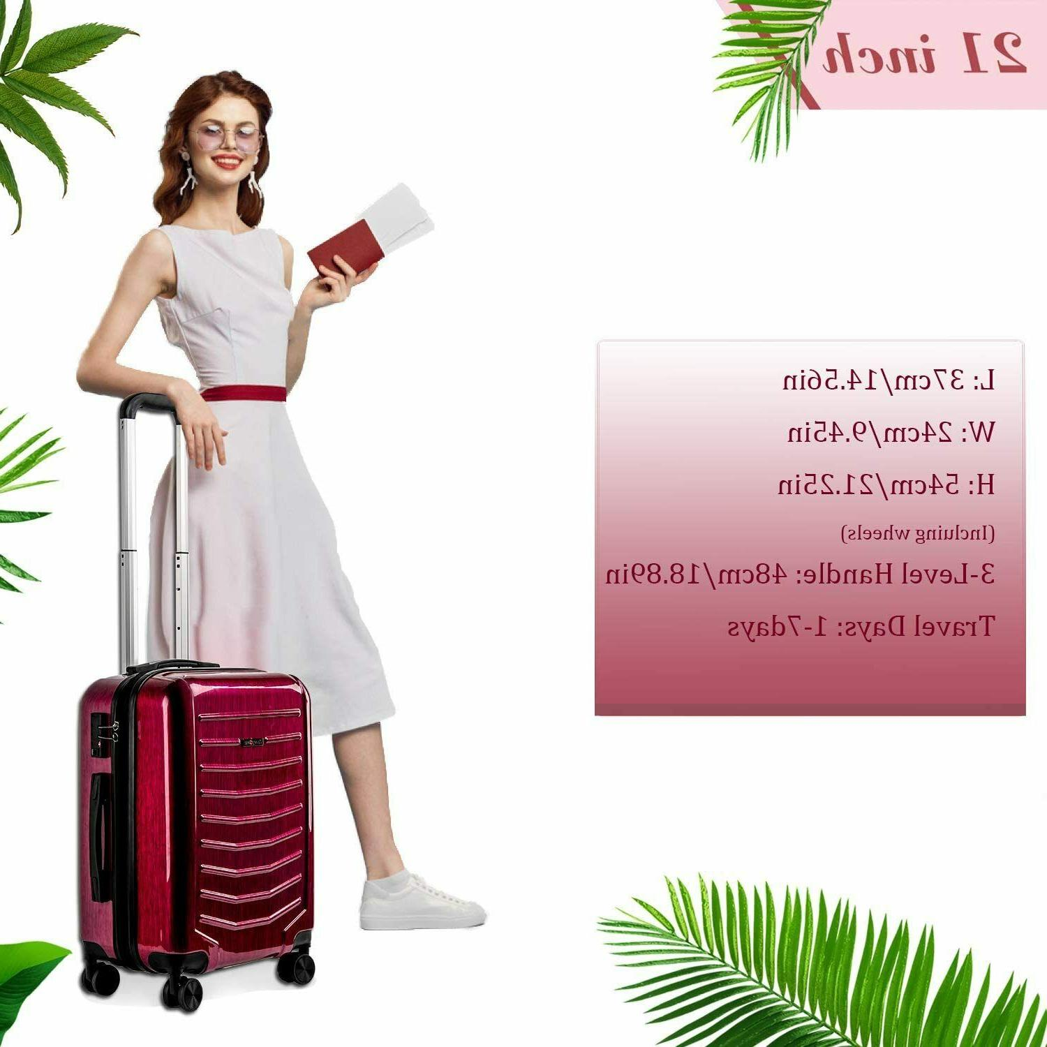 CarryOne Luggage Inch Carry Luggage Sile