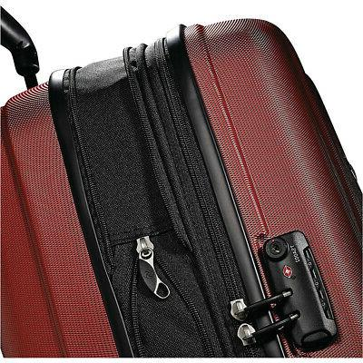 "Samsonite Fiero 20"" Carry-On Hardside Spinner Luggage Hardsi"