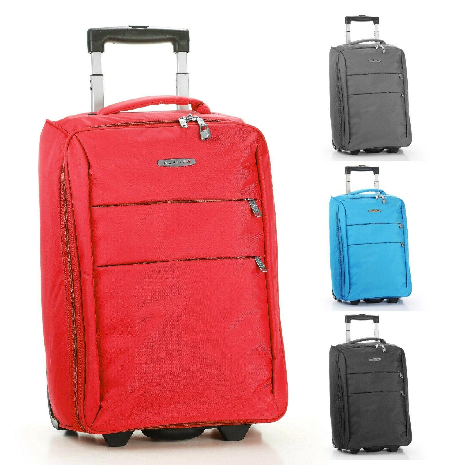 foldable rolling 20 bag carry on luggage