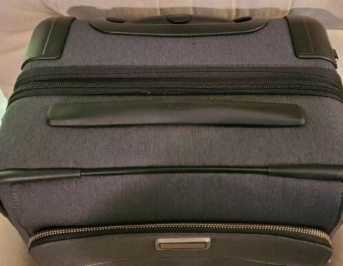 TUMI GRAY CARRY ROLLING LUGGAGE