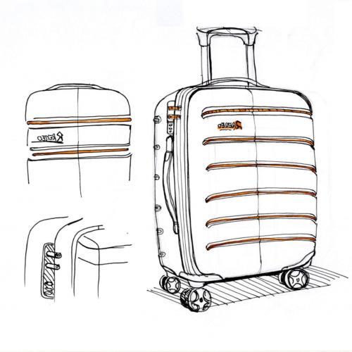 REYLEO Luggage 20 Carry On Luggage Lightweight