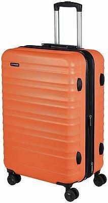 AmazonBasics Hardside Spinner Luggage - 24-Inch Standard Ora