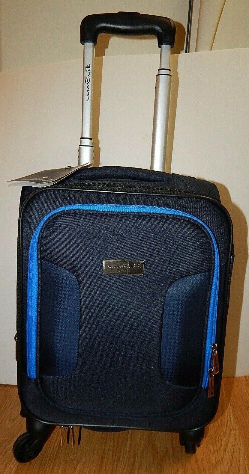 """BEN SHERMAN 16"""" 4-WHEELED CARRY-ON NEW"""