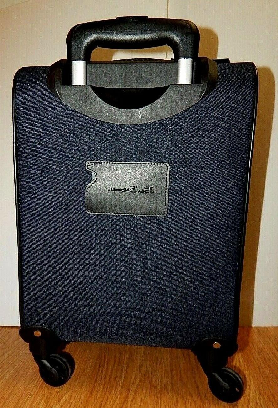 """BEN 16"""" 4-WHEELED UPRIGHT CARRY-ON NEW"""