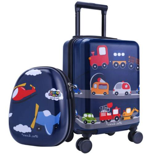 iPlay, iLearn Luggage Set, Shell Carry on Suitcase...