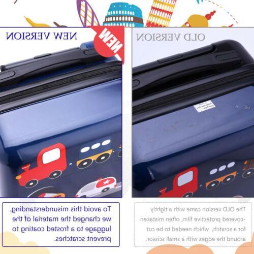 iPlay, iLearn Kids Luggage Set, 18'' Hard Shell Carry