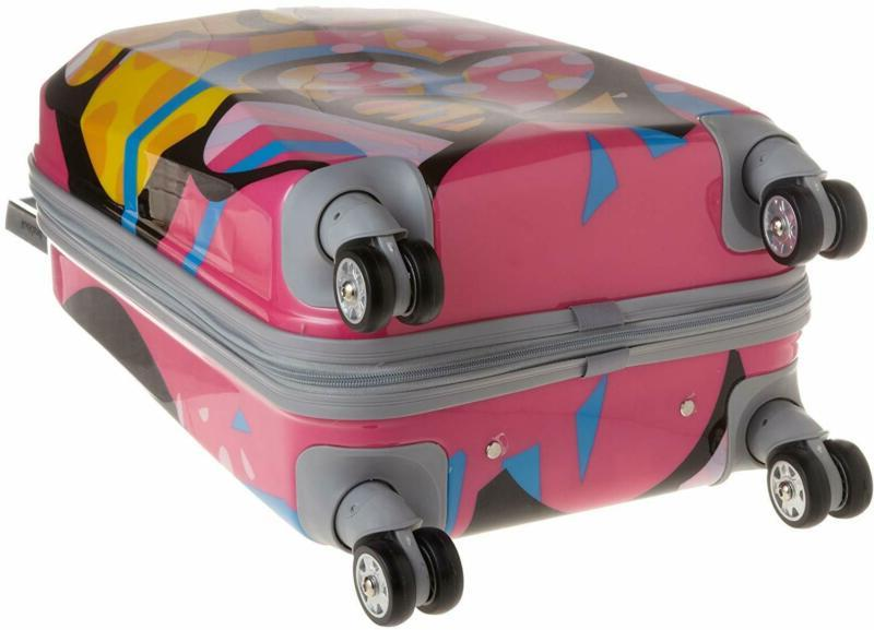 Rockland Polycarbonate Luggage, Love, One