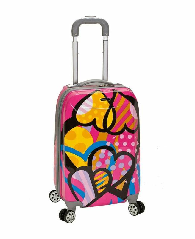 luggage 20 inch polycarbonate carry on luggage