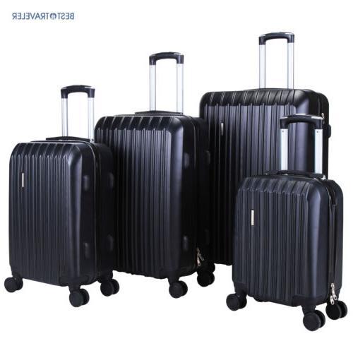 luggage set bag abs trolley