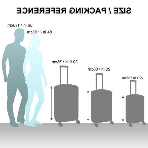 Luggage Set Trolley Spinner Carry Suitcase