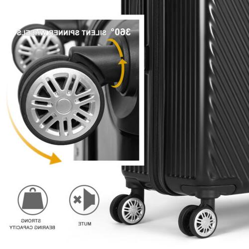 Luggage Set Bag Trolley Spinner Carry Suitcase