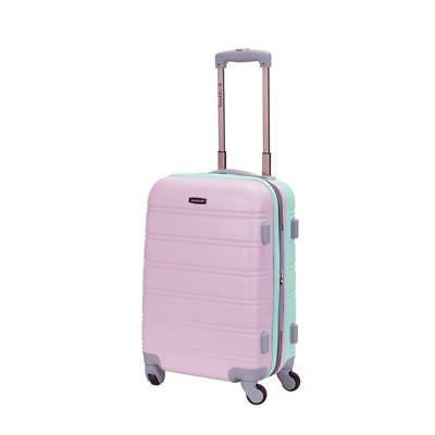 melbourne 20 in expandable carry on hardside