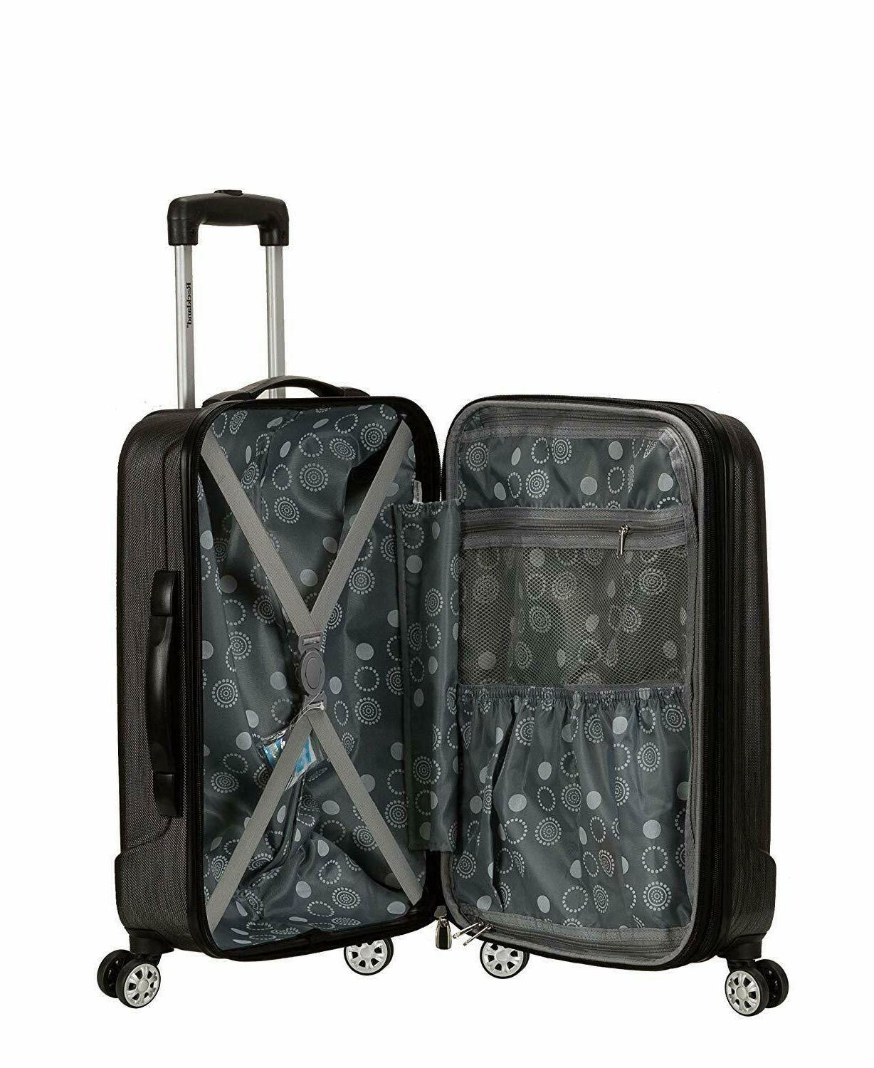Rockland Expandable ABS Carry Luggage