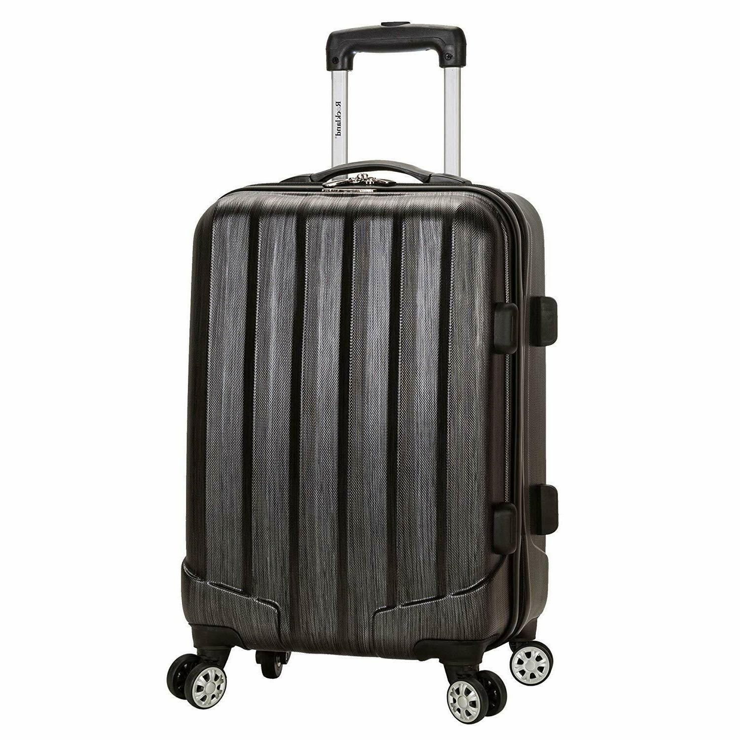 melbourne 20 inch expandable abs carry on