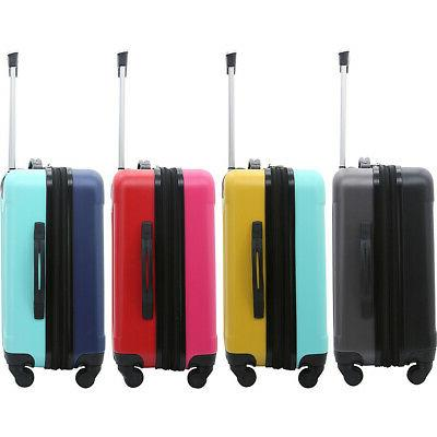 "Travelers Luggage 20"" Expandable Carry-On"
