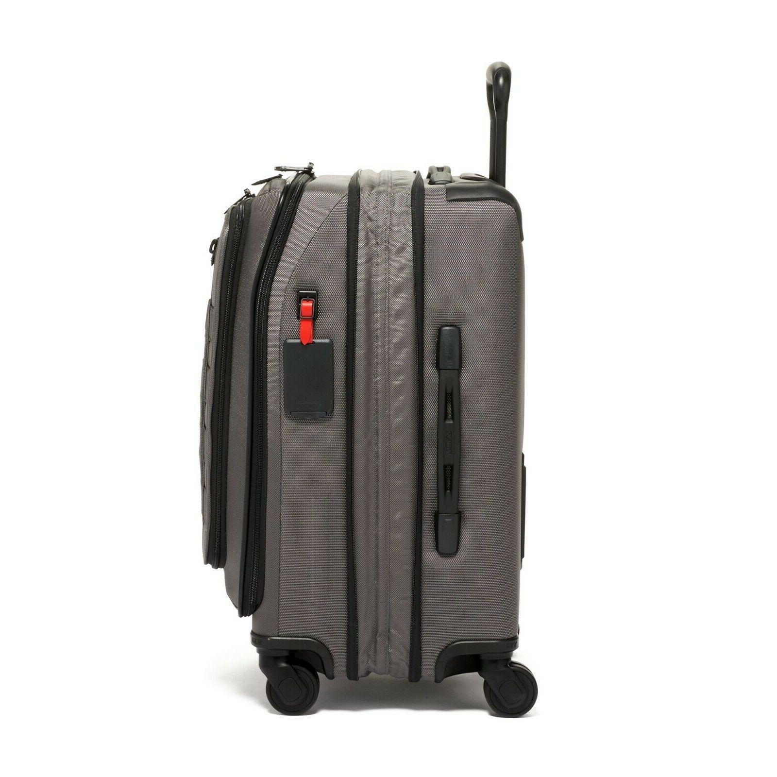 NEW Expandable Carry On 2228660 Storm Gray