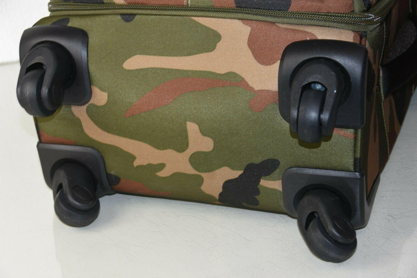 NEW CAMO Luggage Green