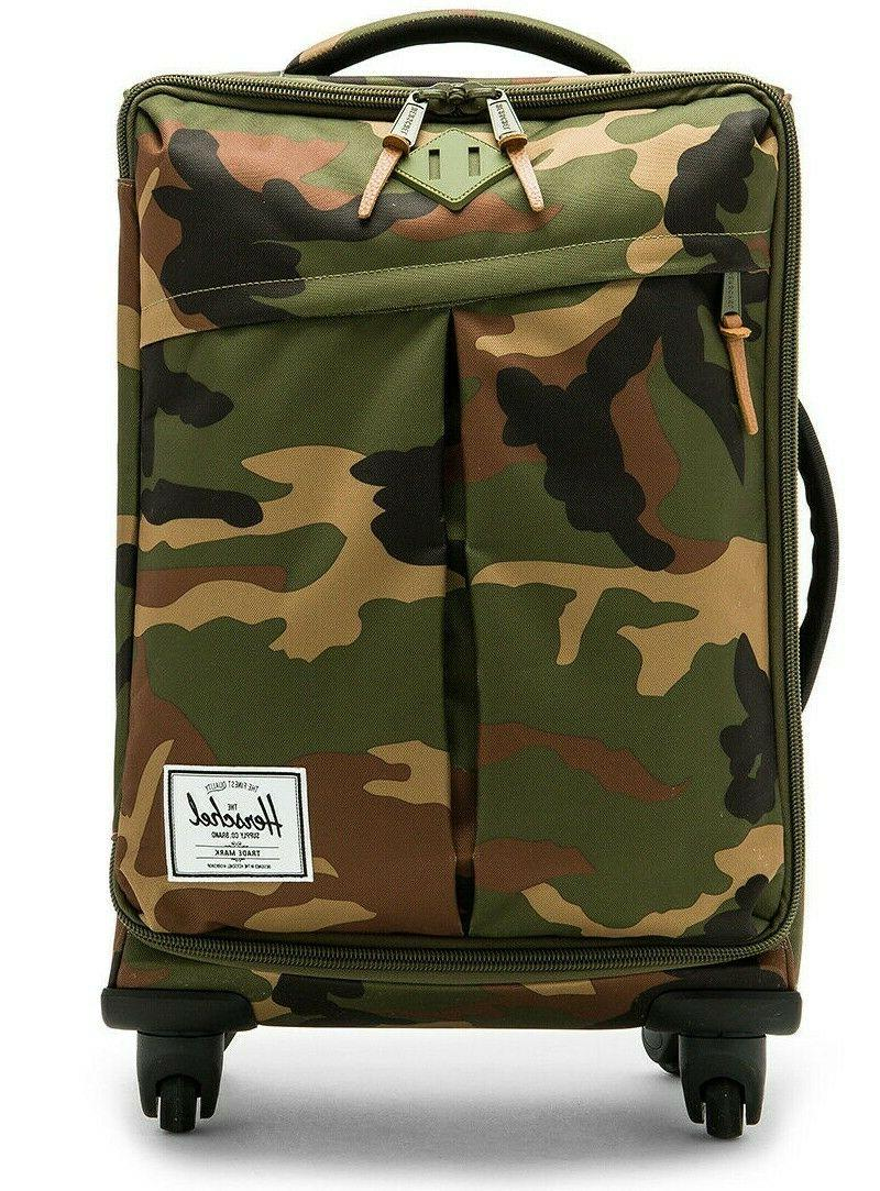 new nwt highland camo carry on luggage