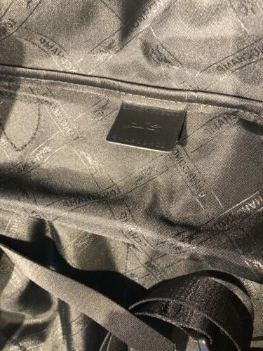 NWT LONGCHAMP FOULONNE BLACK CARRY-ON LUGGAGE DUST BAG