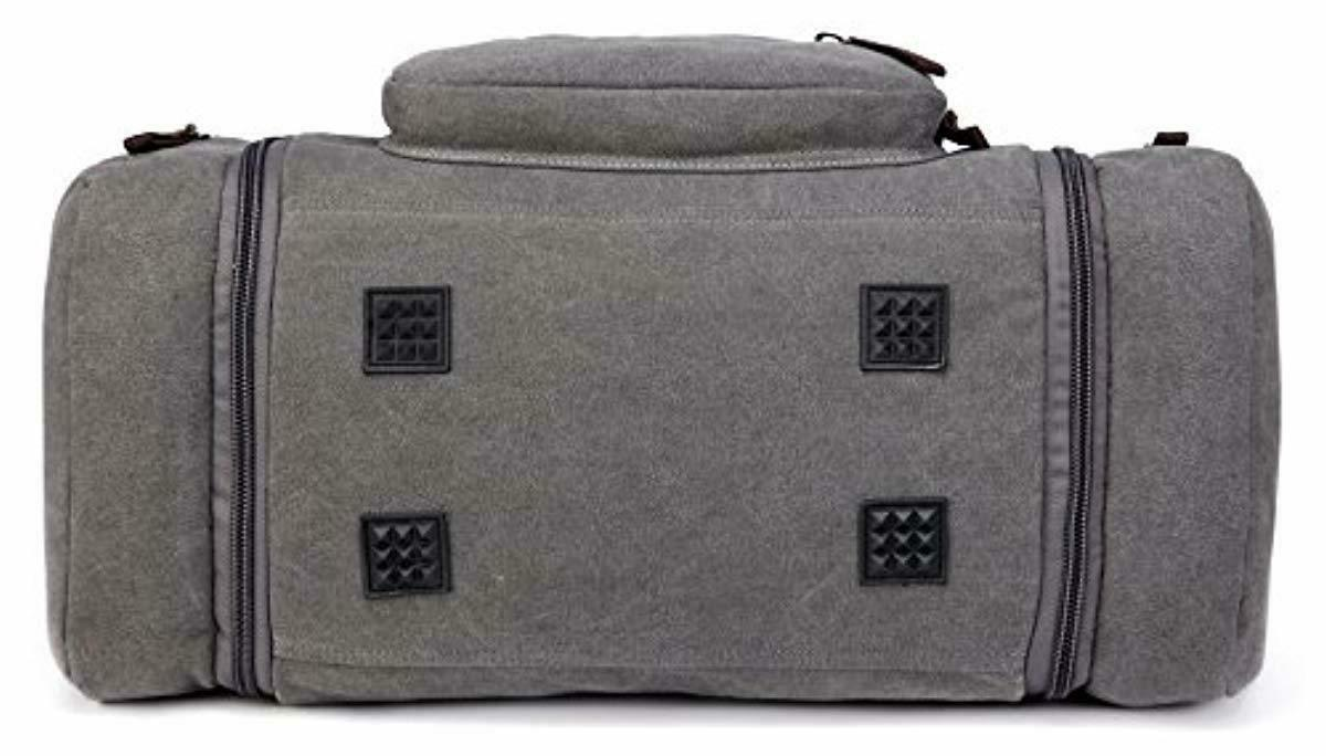 New Oversized Travel Tote Luggage Weekend Duffel Bag