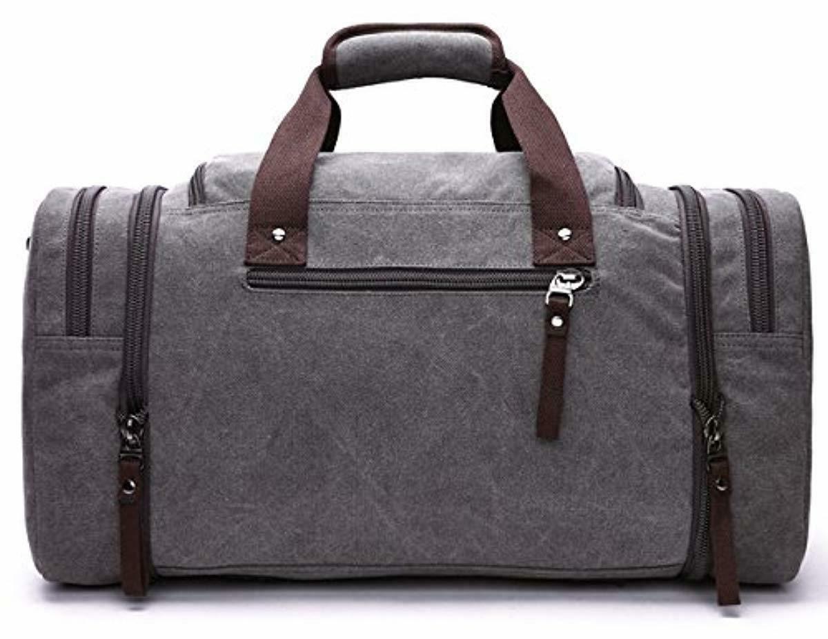New Kenox Canvas Travel Tote Duffel Bag