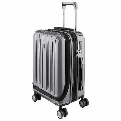 DELSEY Paris Titanium On Spinner Luggage Suitcase