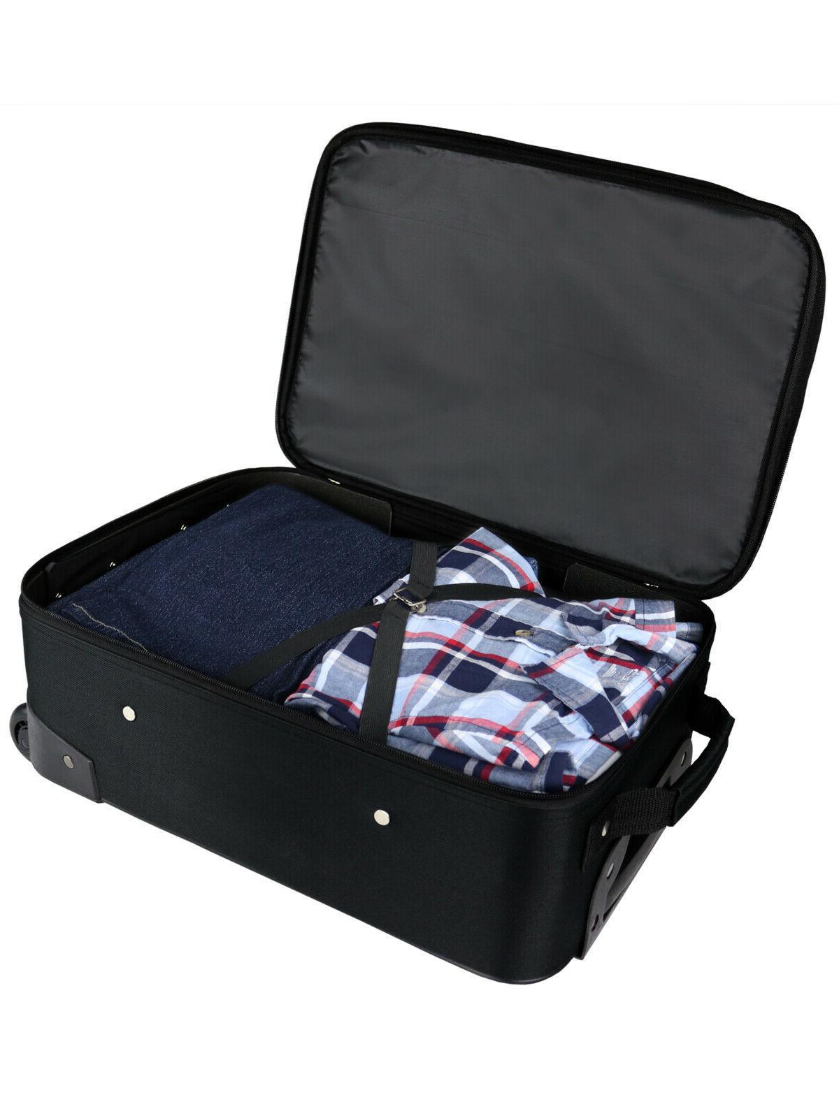 Pilot Case Upright Handle Travel Bag Black