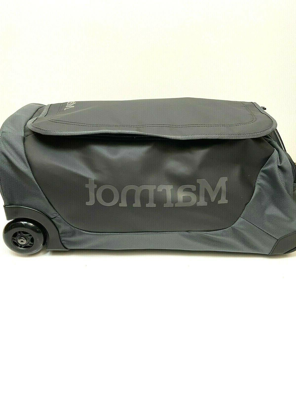 MARMOT Rolling Carry On Duffle Luggage Bag Travel Suitcase 40L