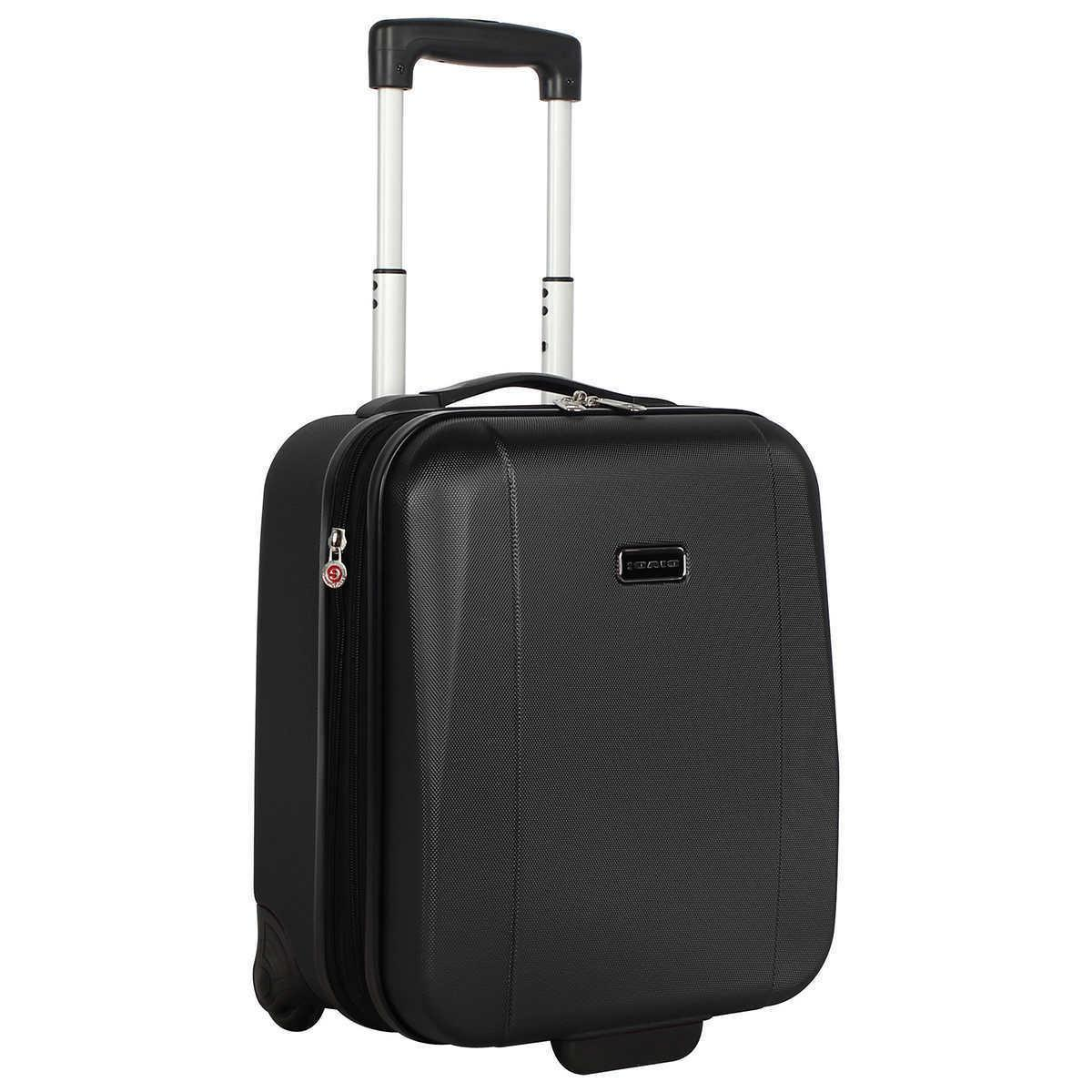 Rolling Wheeled Suitcase Carry Bag Luggage