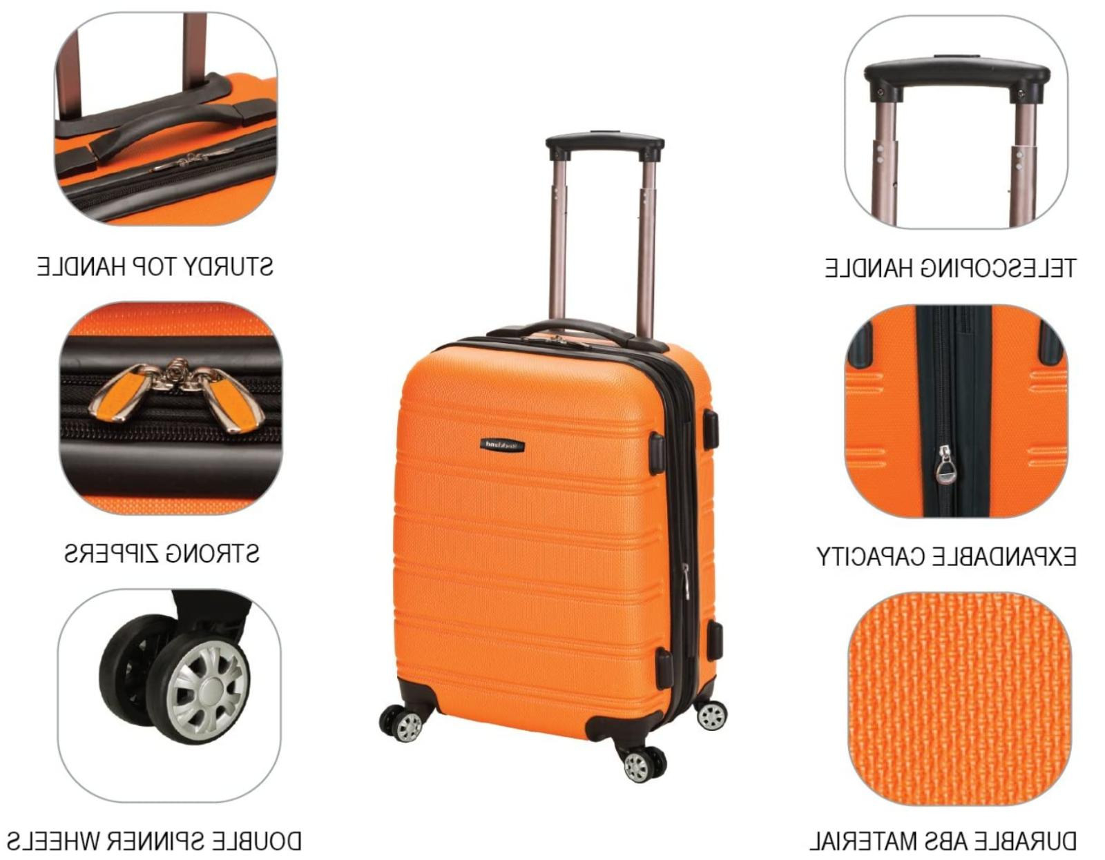 Spinner Luggage Carry Travel