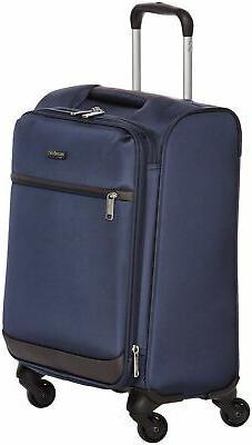 AmazonBasics Softside Carry-On Spinner Luggage Suitcase - 18