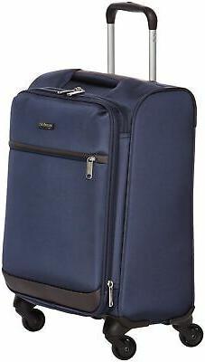 AmazonBasics Softside Carry-On Spinner Luggage Suitcase - 21