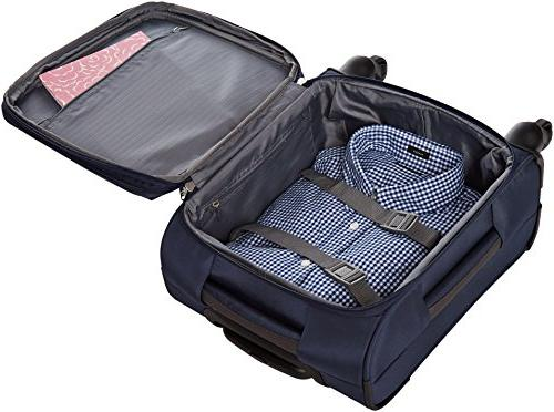 AmazonBasics Spinner 18-inch Carry-on/Cabin Blue