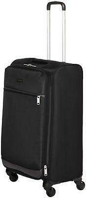 AmazonBasics Softside Spinner Luggage Suitcase - 29 Inch, Bl